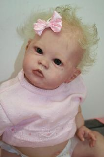 Reborn Baby Doll Girl Sharlamae by Bonnie Brown Little Toddler