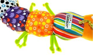 Musical Lamaze Inchworm Soft Developmental Lovely Multi Function Music Baby Toy