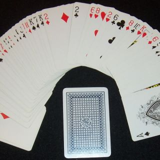 24 Marked Playing Card Deck Magic Trick Mind Reading