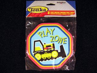 4 Tonka Truck Construction T Shirt Emblems Reusable Party Supplies Favors