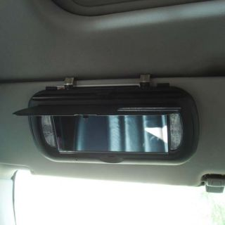 Clip on Car Mirror Hidden Spy Camera with Built in DVR
