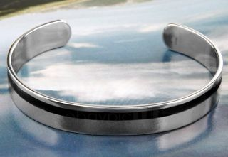 Mens Stainless Steel Cuff Bracelet