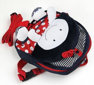 Baby Kid Backpack Toddler Handcrafted Doll Bag with Safety Harness K0213 2