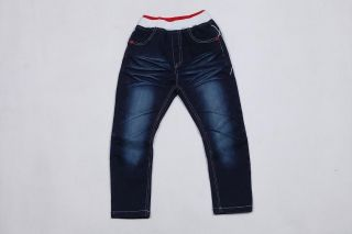 Hot Toddler Kids Boys Girls Back Spider Man Denim Jeans Pants Trousers 2 7Years