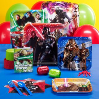 Star Wars Generations Birthday Party Celebration Supplies Kit Pack Invitations