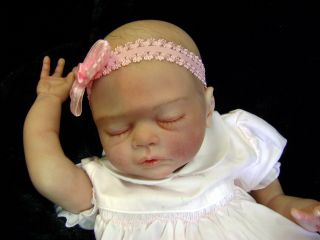 New Sculpt Limited Beautiful Reborn Baby Doll Amiah by Melody Hess Signed Body