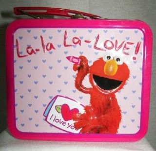 Sesame Street Metal Elmo Mini Love Lunch Box 2007