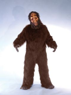 Sasquatch Adult Costume Scary Furry Creature Halloween