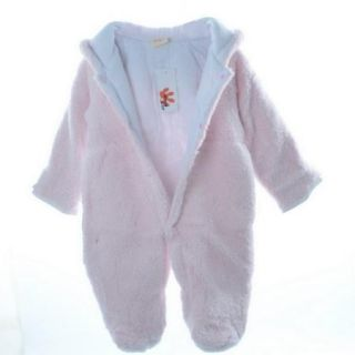Boy Girl Baby Winter Animal Fleece Jacket Coat Warm Romper 0 24M Snowsuit Outfit
