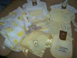 Carter's Fall Winter Lot Newborn Layette Baby Girl Boy Clothes Size 3M $100
