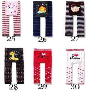 Baby Toddler Kids Boys Girls Leggings Trousers Pants 1