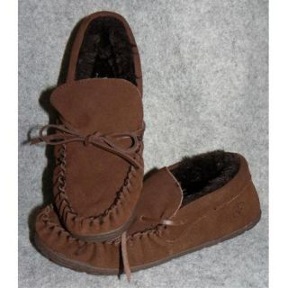 New Swiss Gear Connor Mens Moccasin Slippers Indoor Outdoor Size 7 8 9 10 11 12