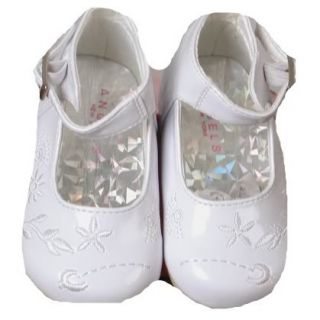 Baby Girl White Dress Shoes
