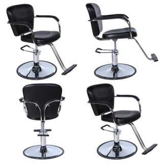 4 x Black Beauty Salon Equipment Hydraulic Hair Styling Chair Package SC 40