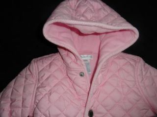 Polo Ralph Lauren Baby Infant Girls Pretty Pink Quilted Bunting Snowsuit 9M