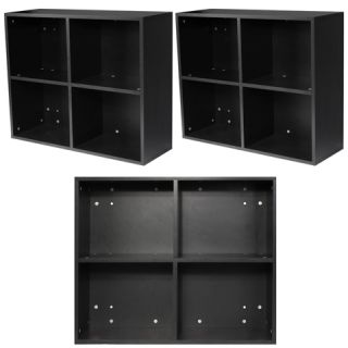 3 x Black Salon Shampoo Station Storage Shelf Equipment Package WS 01b