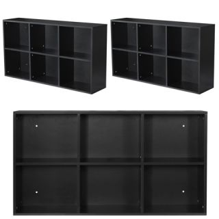 3 x Black Salon Shampoo Station Storage Shelf Equipment Package WS 02b