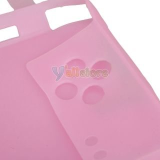 Pink Silicone Skin Case Shell for Nintendo DSi NDSi USA