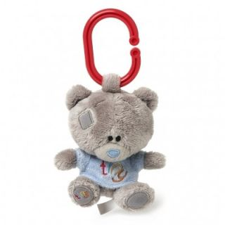 Cute Baby Boy Buggy Plush Squeaker Me to You Tiny Tatty Teddy Bear Hanging Toy