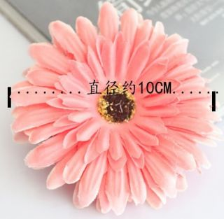 Gerbera Daisy Flower Clip Fascinator for Women Baby Girls Child Brooch Hair Head