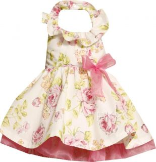 "New Baby Girls ""Pink Cabbage Roses"" Size 24M Easter Dress Clothes"