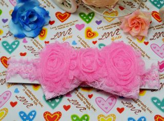Candy Colour Baby Girl Toddler Flower Headband Headwear Soft Various Cute Style