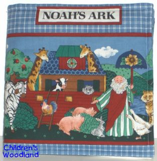 Noahs Ark Cloth Soft Book Kids Baby Toddlers New