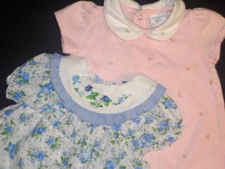 15 Piece Lot Vintage Carters Baby Girl Clothes 0 3 3 6 6 9 Months