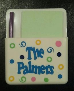 Personalized Magnetic Note Pad Holder Design Your Own
