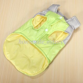 Pet Dog Warm Winter Vest Clothes Jacket Coat Warm Polyester Apparel Costume