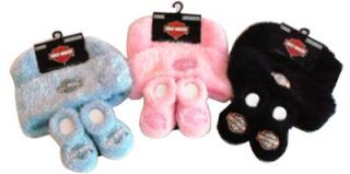 Harley Davidson Infant Baby Girl Boy Cap Booties Set