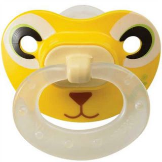 NUK Pacifier Animal Faces Type BPA Free Pacifier sz2 6 12 Months 2pk
