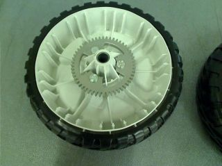 Lot of 2 Toro Personal Pace 8 in Replacement Rear Wheel Drive Wheels