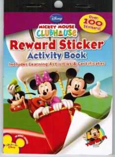 Mickey Mouse Clubhouse Reward Stickers Activity Book
