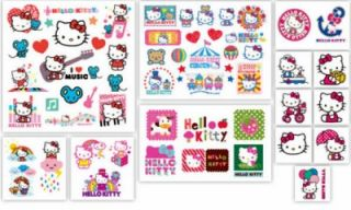 50 Hello Kitty Temporary Tattoos Party Favors Savvi New NIP