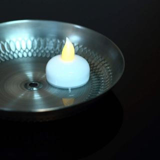 Water Float Simulation Flameless No Smoke LED Candle Light for Party Wedding S9