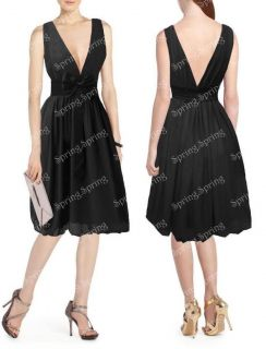 Crazy Sale New Sexy Deep V Neck Party Cocktail Dress AU Size SP494