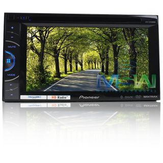 Pioneer® AVH X3500BHS in Dash Double DIN Car DVD Head Unit w Bluetooth HD Radio