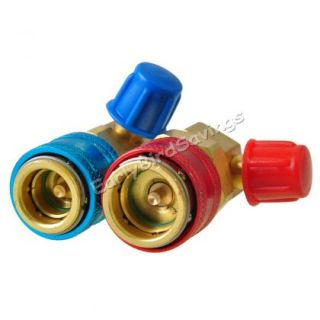High and Low Quick Coupler Connector Adapter R134a Conversion Set for Auto Car