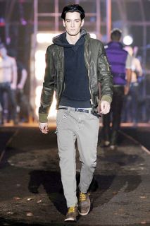 Dsquared² Fighting Dudes Runway Leather Hooded Jacket 50 FW 07 08 71AM131 2520€