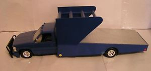 Custom Modified Dirt Late Model Race Car Hauler Tow Flatbed Chevy Ramp Truck