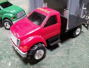 Ertl 1 64 Custom 4x4 Ford F650 Pickup Truck Hauler Puller Flatbed Farm Toy DCP