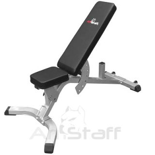 Adjustable Deluxe Multi FID Folding Amstaff Fitness TT1103 Commercial Bench
