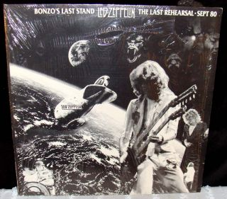 LED Zeppelin Last Rehearsal Bonzo's Last Stand Days Before Death Sept 24 1980