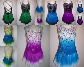 Ice Roller Skating Dress Twirling Costume Made to Fit