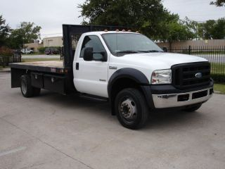 2006 Ford Super Duty F450 Diesel Reg Cab Flatbed