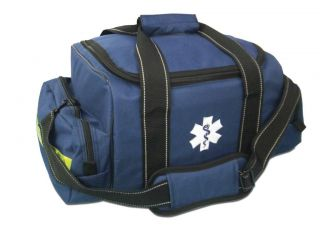 EMT EMS Medical Responder First Aid Medic Bag Large Trauma Jump Kit LXMB30 Blue