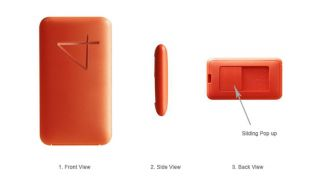 iRiver USB Flash Memory Drive Domino Inflate 4GB Orange