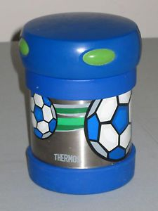 Thermos Stainless Steel Soccer Ball Sport Food Container Hot Cold Lunch School