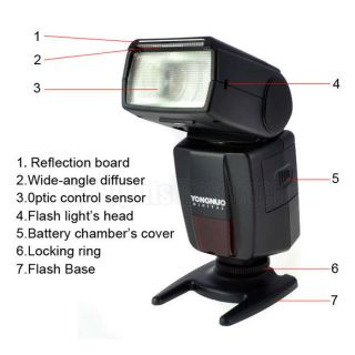 YONGNUO YN460 II Flash Speedlite for Canon Nikon Pentax Olympus DSLR Camera 0013964410877